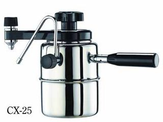 Bellman CX-25 stovetop coffee & milk frother machine