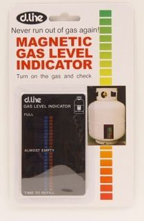 D-line magnetic gas level indicator