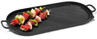 Chasseur French oval grill - black - 46cm x 23cm