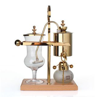 Belgian Royal coffee maker - gold
