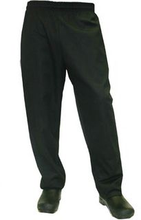 Chefs trousers - black