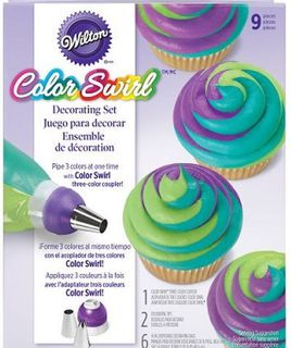 Wilton ColorSwirl decorating set