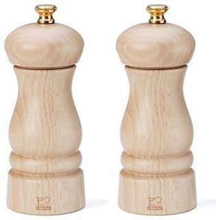 Peugeot Clermont salt and pepper mill set - natural - 13cm