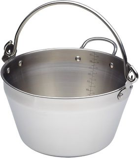 Kitchencraft maslin preserving pan - 9 litres