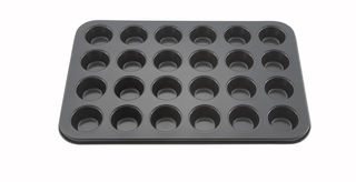 International mini muffin pan - 24 cup