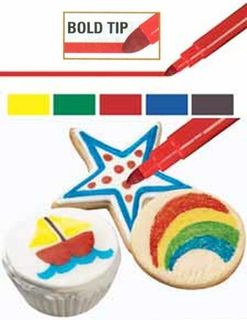 Wilton foodwriter edible colour markers - bold