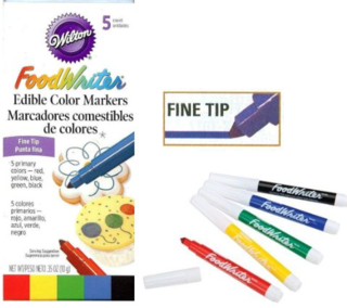 Wilton foodwriter edible colour markers - fine