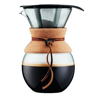 Bodum pour over coffee maker with permanent filter - 1000ml