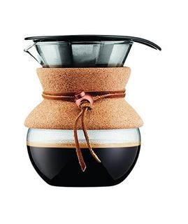 Bodum pour over coffee maker with permanent filter - 500ml