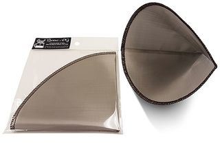 Brew reusable stainless steel mesh coffee filter