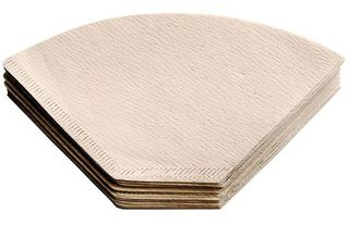 Non-bleached coffee filter papers - 1-2 cup