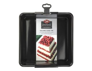 Tala square loose base cake tin - 23cm