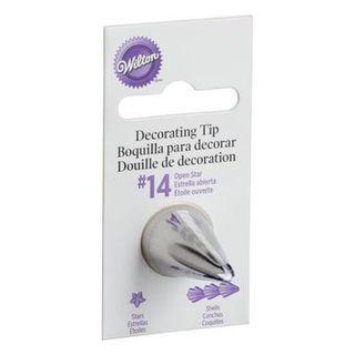 Wilton icing tips - stars/ shells