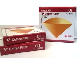 Unbleached paper filters - 1-2 cup