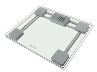 Salter Compact glass bathroom scales