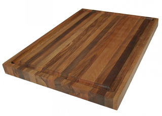 NZ Rimu chopping board - large with juice groove