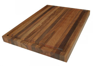 NZ Rimu chopping board - extra large with juice groove