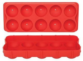 Silicone round spherical ball ice tray