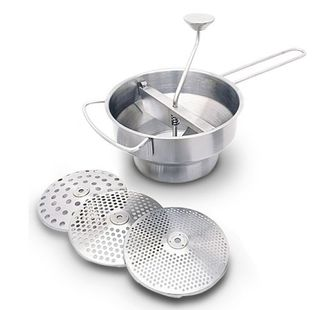 Stainless steel mouli - 20cm