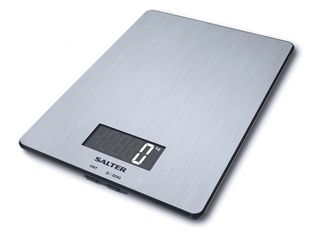 Salter stainless steel electronic scales