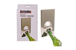 Bartender magnetic bottle opener
