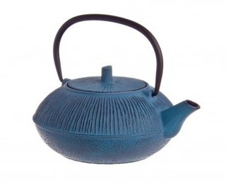 Cast Iron teapot - straw blue - 800ml