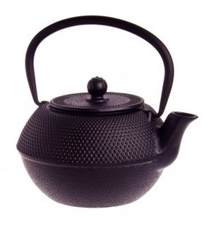 Cast Iron hobnail teapot - 800ml