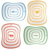 SiliconeZone chopping board - set of 4