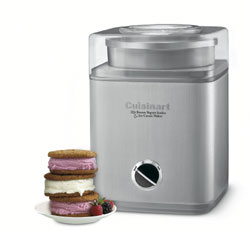Cuisinart frozen yoghurt/ ice cream maker