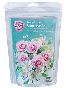 Wilton ready-to-use gum paste