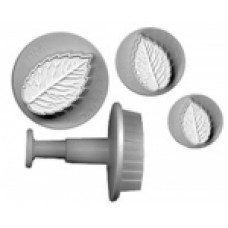 Plunger icing cutters - leaf