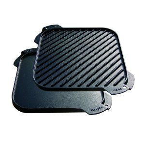 Lodge cast iron reversible grill/ griddle - 26.5cm x 26.5cm