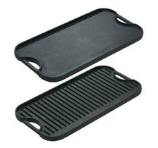Lodge cast iron reversible grill/griddle - 51cm x 26.5cm