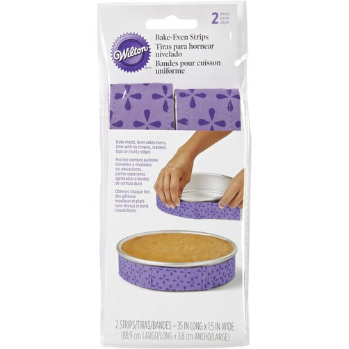 Wilton Bake Even cake strips