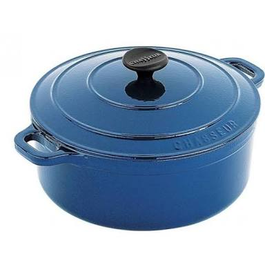 Chasseur French oven - 24cm - sky blue
