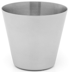 Dariole mould - stainless steel - 135ml
