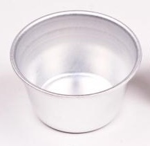 Creme caramel mould - aluminium - 125ml