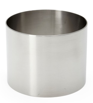 Food stacker - stainless steel - 7.5cm
