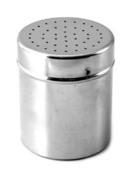 Stainless steel shaker - small holes