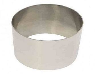 Food stacker - stainless steel - 9cm