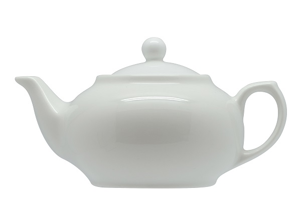 Rockingham porcelain teapot - 1000ml