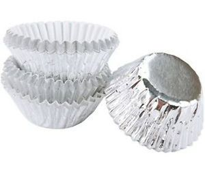 Wilton foil candy cups - silver