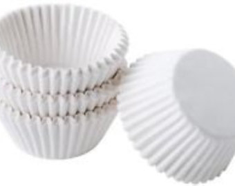 Wilton candy cups - white