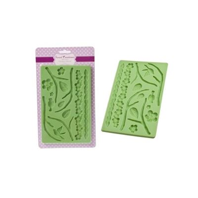 Sweet Creations silicone fondant mould - flora