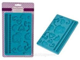 Sweet Creations silicone fondant mould - floral art