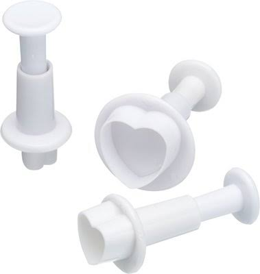 Plunger icing cutters -  heart