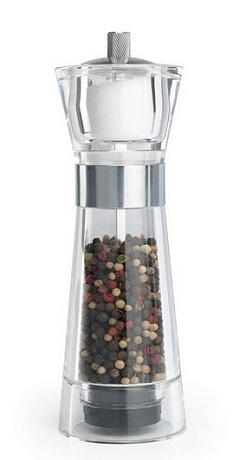 DMD Aspen pepper mill and salt shaker