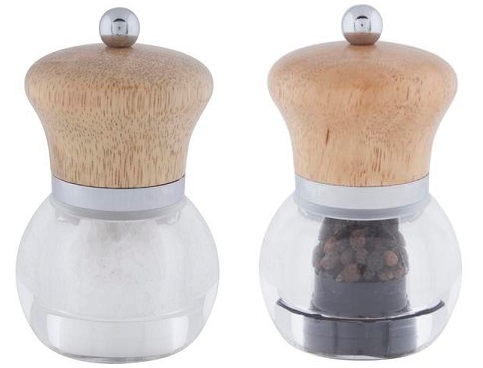 DMD Orbit salt and pepper mill set