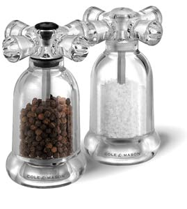 Cole & Mason Tap salt and pepper mill set
