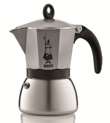 Bialetti Moka Induction stovetop espresso - 3 cup